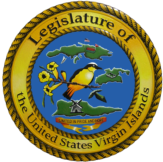 Legislature of the Virgin Islands logo